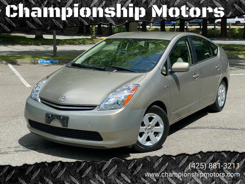2007 Toyota Prius for sale at Championship Motors in Redmond WA