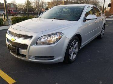 2012 Chevrolet Malibu for sale at Dymix Used Autos & Luxury Cars Inc in Detroit MI