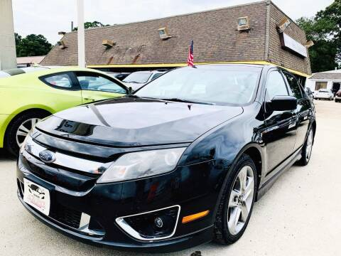 2010 Ford Fusion for sale at Auto Space LLC in Norfolk VA