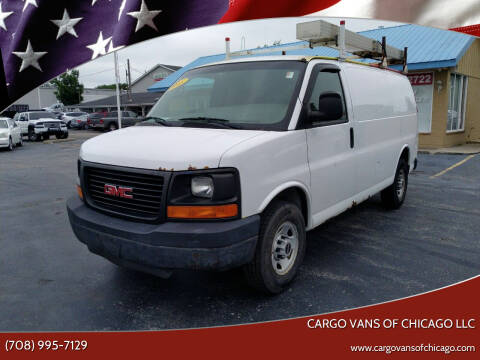 2008 GMC Savana Cargo for sale at Cargo Vans of Chicago LLC in Mokena IL