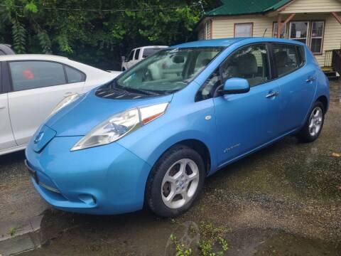 2012 Nissan LEAF for sale at Mc Calls Auto Sales in Brewton AL