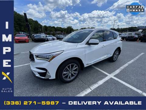 2019 Acura RDX for sale at Impex Auto Sales in Greensboro NC
