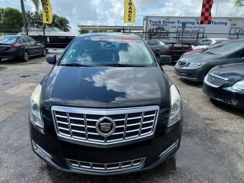2014 Cadillac XTS for sale at America Auto Wholesale Inc in Miami FL