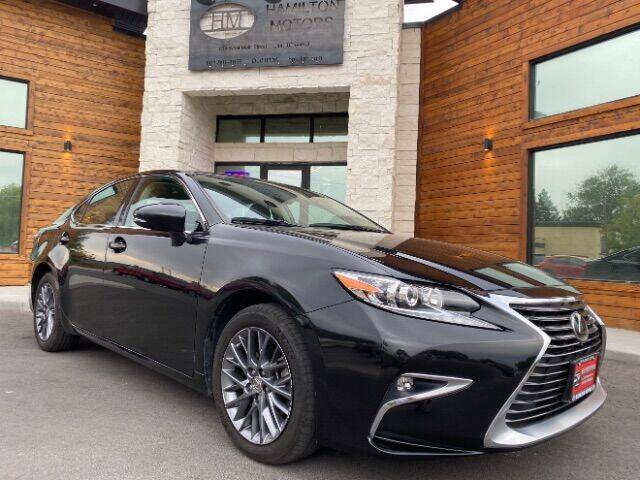 2018 Lexus ES 350 for sale at Hamilton Motors in Lehi UT