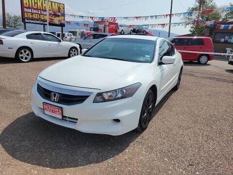 2012 Honda Accord for sale at Bickham Used Cars in Alamogordo NM