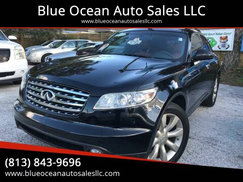 2003 Infiniti FX45 for sale at Blue Ocean Auto Sales LLC in Tampa FL