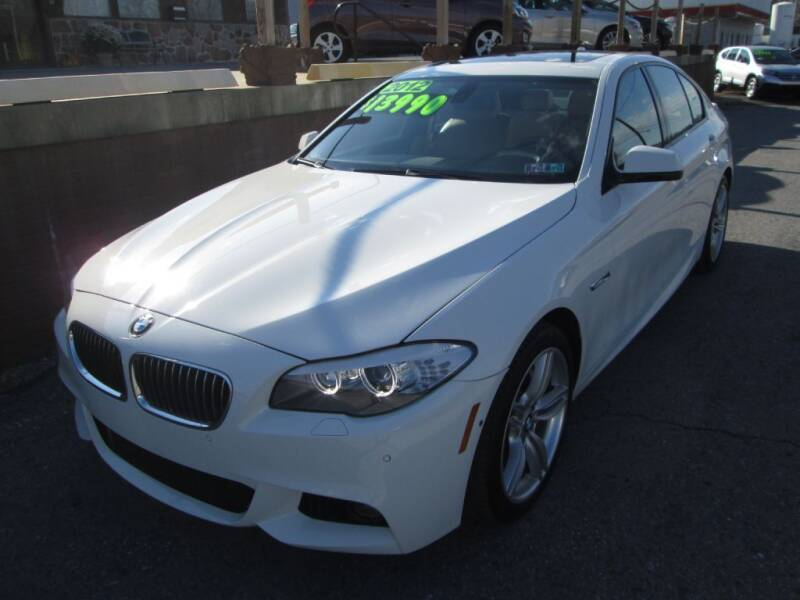 2012 BMW 5 Series for sale at WORKMAN AUTO INC in Pleasant Gap PA