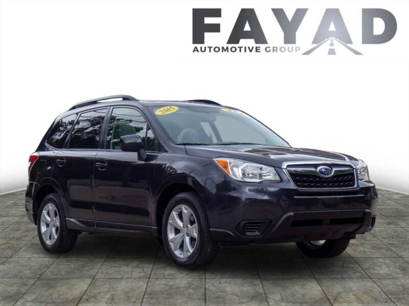 2015 Subaru Forester for sale at FAYAD AUTOMOTIVE GROUP in Pittsburgh PA