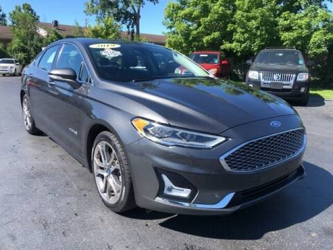 2019 Ford Fusion Hybrid for sale at Newcombs Auto Sales in Auburn Hills MI