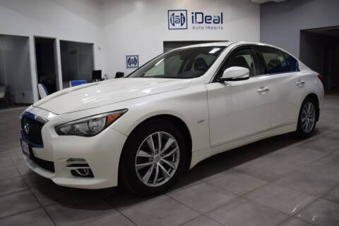 2016 Infiniti Q50 for sale at iDeal Auto Imports in Eden Prairie MN