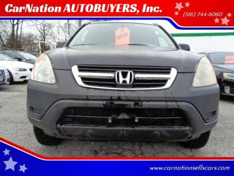 2002 Honda CR-V for sale at CarNation AUTOBUYERS, Inc. in Rockville Centre NY