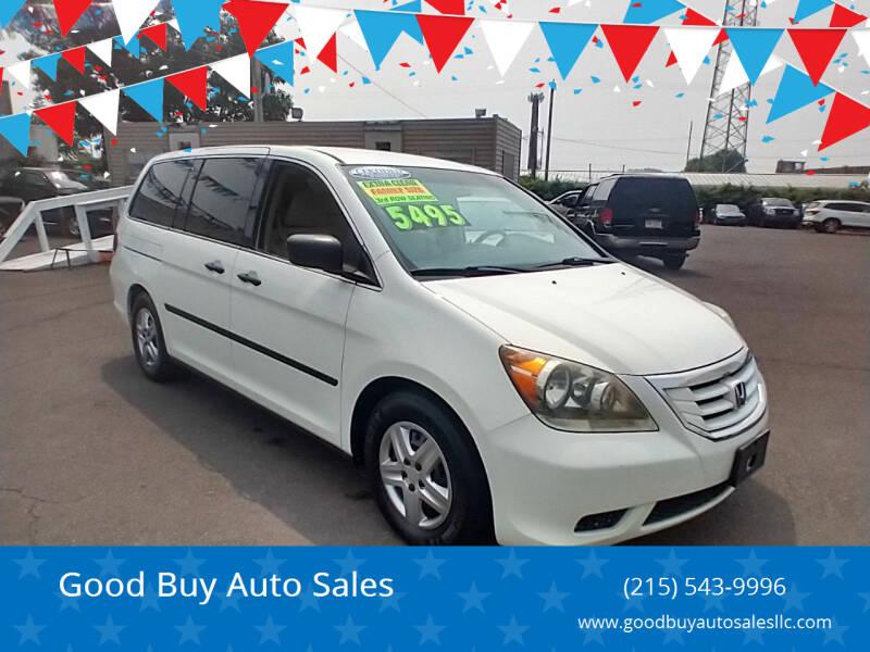 2009 Honda Odyssey for sale at Good Buy Auto Sales in Philadelphia PA