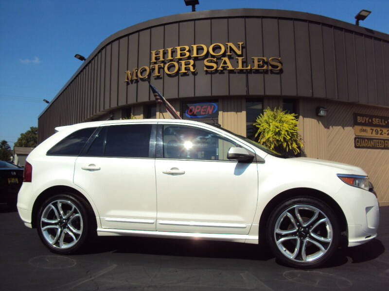 2013 Ford Edge for sale at Hibdon Motor Sales in Clinton Township MI