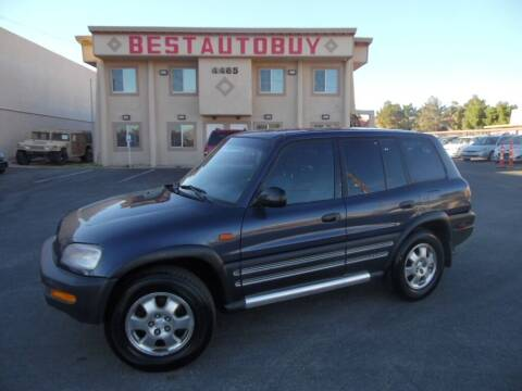 1996 Toyota RAV4 for sale at Best Auto Buy in Las Vegas NV
