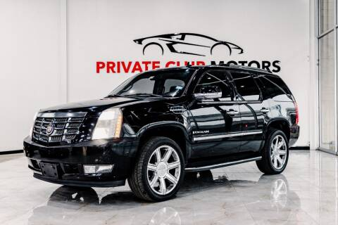 2007 Cadillac Escalade for sale at Private Club Motors in Houston TX