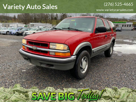 2000 Chevrolet Blazer for sale at Variety Auto Sales in Abingdon VA