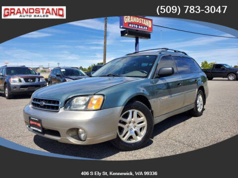 2001 Subaru Outback for sale at Grandstand Auto Sales in Kennewick WA