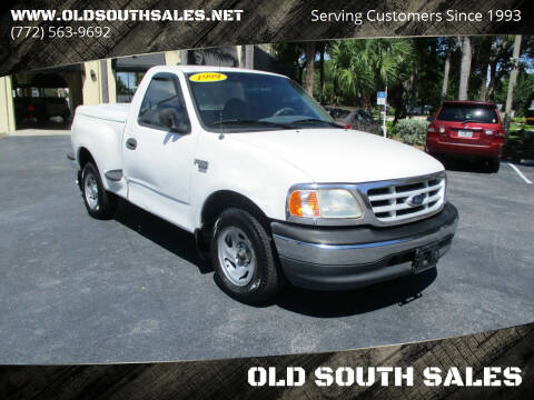 1999 Ford F-150 for sale at OLD SOUTH SALES in Vero Beach FL