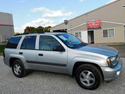 2005 Chevrolet TrailBlazer for sale at Macrocar Sales Inc in Akron OH