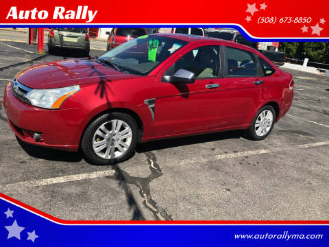 2009 Ford Focus for sale at Auto Rally in Fall River MA