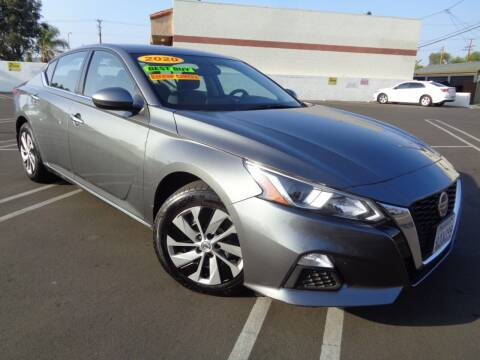 2019 Nissan Altima for sale at ALL STAR TRUCKS INC in Los Angeles CA