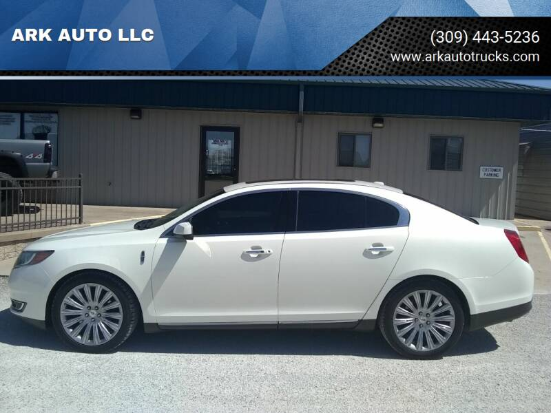2013 Lincoln MKS for sale at ARK AUTO LLC in Roanoke IL