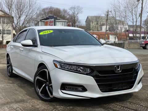 2018 Honda Accord for sale at Best Cars Auto Sales in Everett MA