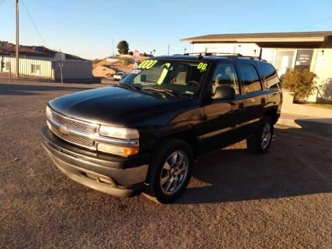 2006 Chevrolet Tahoe for sale at Hilltop Motors in Globe AZ