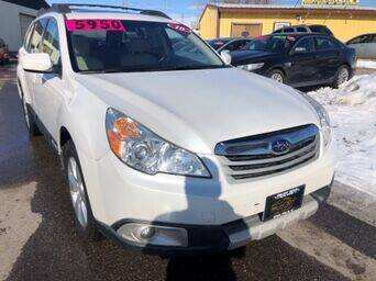2010 Subaru Outback for sale at BELOW BOOK AUTO SALES in Idaho Falls ID
