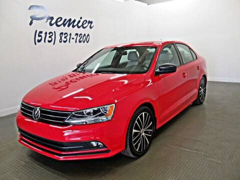 2016 Volkswagen Jetta for sale at Premier Automotive Group in Milford OH