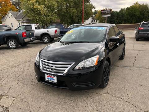 2015 Nissan Sentra for sale at Bibian Brothers Auto Sales & Service in Joliet IL