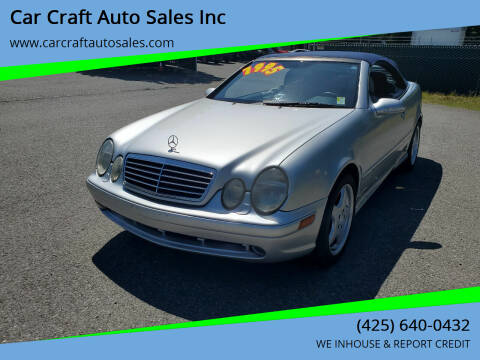 2000 Mercedes-Benz CLK for sale at Car Craft Auto Sales Inc in Lynnwood WA