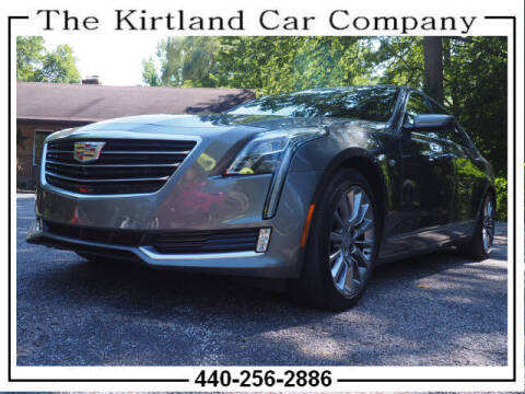 2017 Cadillac CT6 for sale at Kirtland Car Company in Kirtland OH