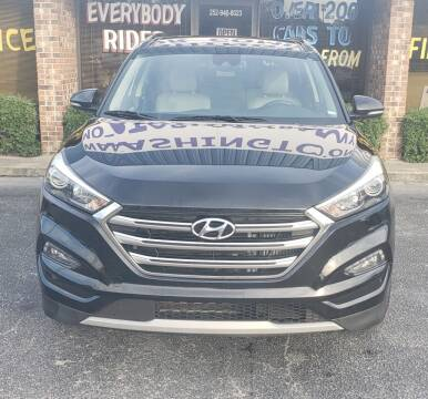 2016 Hyundai Tucson for sale at DRIVEhereNOW.com in Greenville NC
