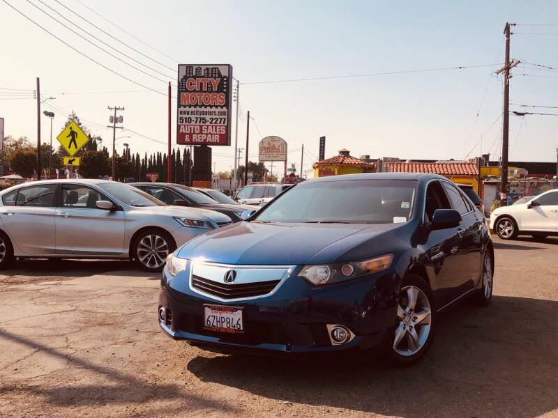 2009 Acura TSX for sale at City Motors in Hayward CA