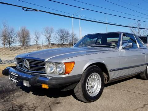 1981 Mercedes-Benz 380-Class for sale at Luxury Imports Auto Sales and Service in Rolling Meadows IL