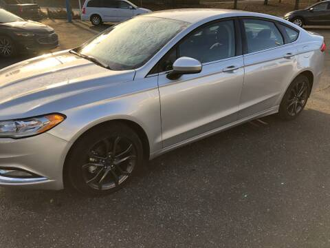 2018 Ford Fusion for sale at Teds Auto Inc in Marshall MO