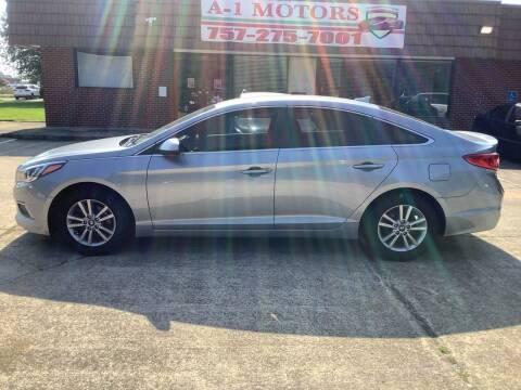 2016 Hyundai Sonata for sale at A-1 Motors in Virginia Beach VA