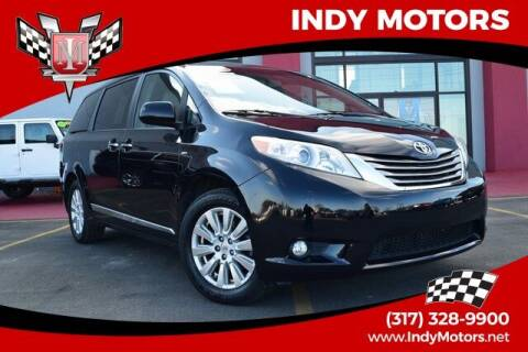 2017 Toyota Sienna for sale at Indy Motors Inc in Indianapolis IN