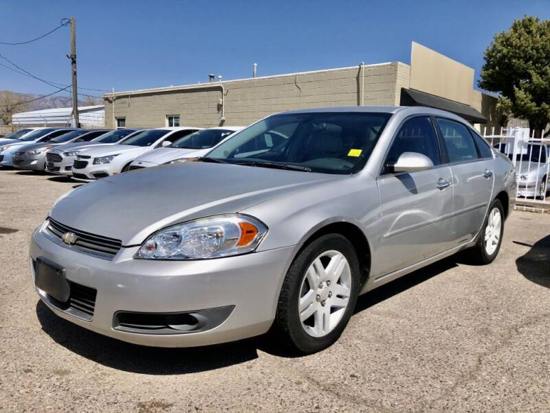 2007 Chevrolet Impala for sale at Top Gun Auto Sales, LLC in Albuquerque NM