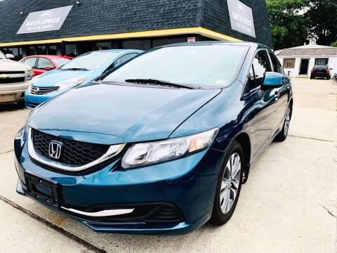 2013 Honda Civic for sale at Auto Space LLC in Norfolk VA