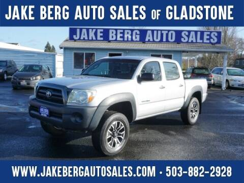 2008 Toyota Tacoma for sale at Jake Berg Auto Sales in Gladstone OR