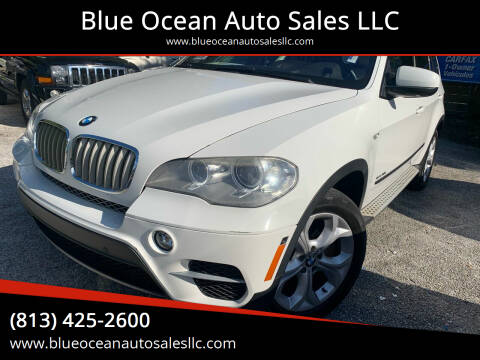 2012 BMW X5 for sale at Blue Ocean Auto Sales LLC in Tampa FL