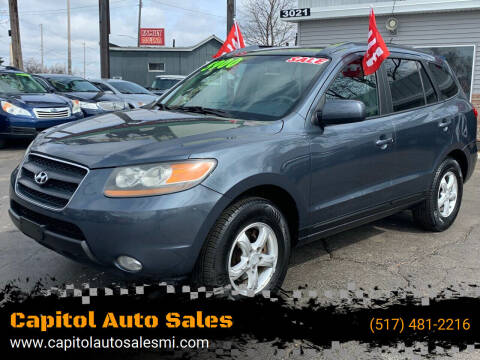 2007 Hyundai Santa Fe for sale at Capitol Auto Sales in Lansing MI