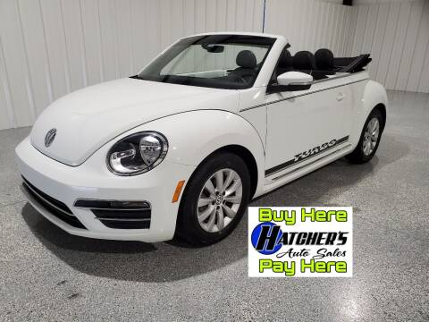 2017 Volkswagen Beetle Convertible for sale at Hatcher's Auto Sales, LLC - Buy Here Pay Here in Campbellsville KY
