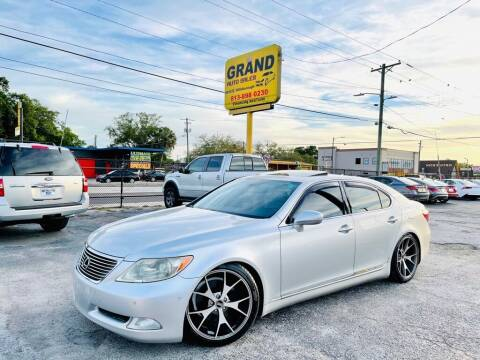 2008 Lexus LS 460 for sale at Grand Auto Sales in Tampa FL
