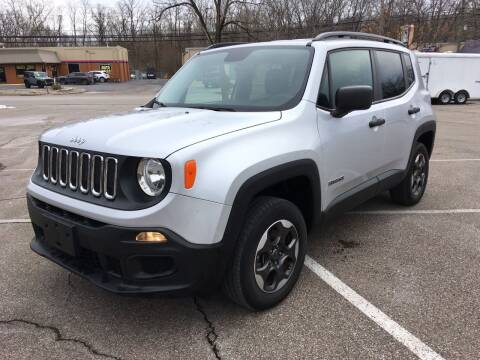 2017 Jeep Renegade for sale at Borderline Auto Sales in Loveland OH