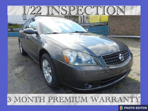 2006 Nissan Altima for sale at 2010 Auto Sales in Glassport PA