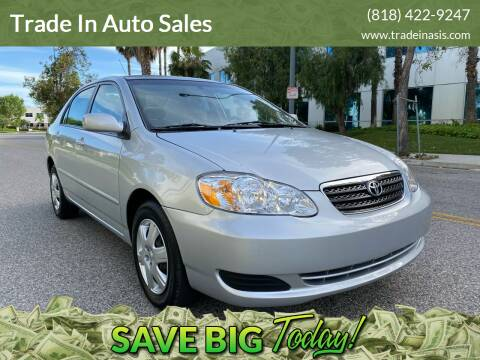 2007 Toyota Corolla for sale at Trade In Auto Sales in Van Nuys CA