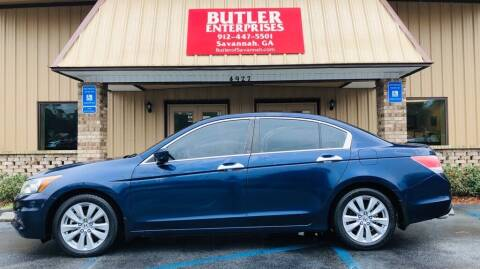 2012 Honda Accord for sale at Butler Enterprises in Savannah GA